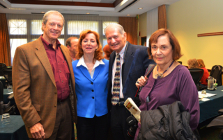 Mike Camp, Susan Blackman, Harold Blum, Elsa Blum